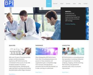 image of custom designed WordPress website