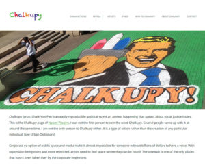 chalkupy.org, WordPress website & maintenance