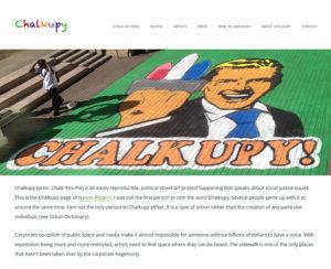 chalkupy.org, WordPress website & maintenance