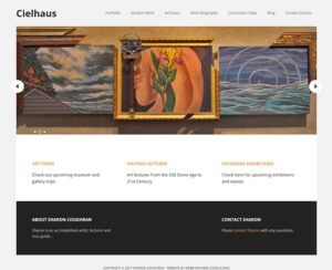 cielhaus.com, WordPress website