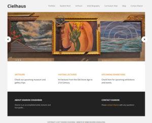cielhaus.com, WordPress website