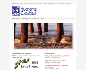 huenemechamber.com, WordPress website, maintenance & hosting