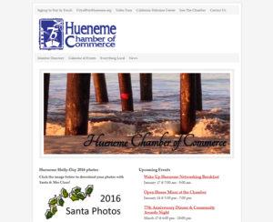 huenemechamber.com, WordPress website, maintenance & hosting