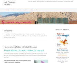 katdrennanbooks.com, WordPress website, maintenance & hosting