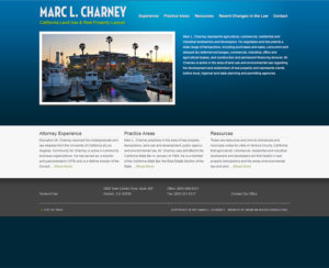 mcharneylaw.com WordPress website & maintenance
