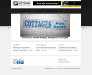 preemploymentinc.com, WordPress website & maintenance