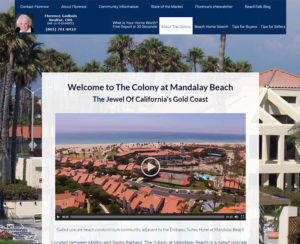thecolonyatmandalay.com, custom WordPress website, maintenance & hosting