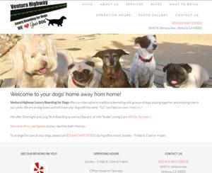 vhluxuryboarding4dogs.com, WordPress website, maintenance & hosting