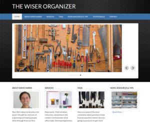 thewiserorganizer.com, WordPress website, maintenance & hosting