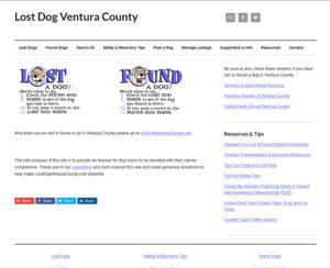 lostdogventuracounty.com